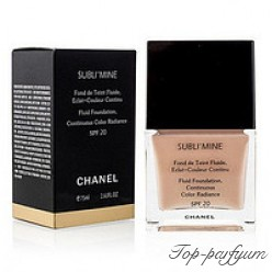 Тональный крем Chanel Sublimine Fond de Teint Fluide Spf 20, 75ml