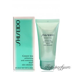 Shiseido Green Tea Whitening and Removing Dead Skin Element Пилинг для лица