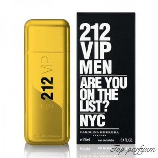 Carolina Herrera 212 VIP Men Gold (Каролина Эррера 212 ВИП Мен Голд)