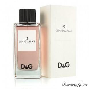 "Dolce & Gabbana 3 L""Imperatrice (Дольче и Габбана 3 Императрица)"