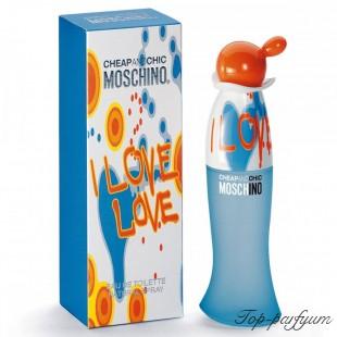 Moschino Cheap and Chic I Love Love (Москино Чип энд Чик Ай Лав Лав)